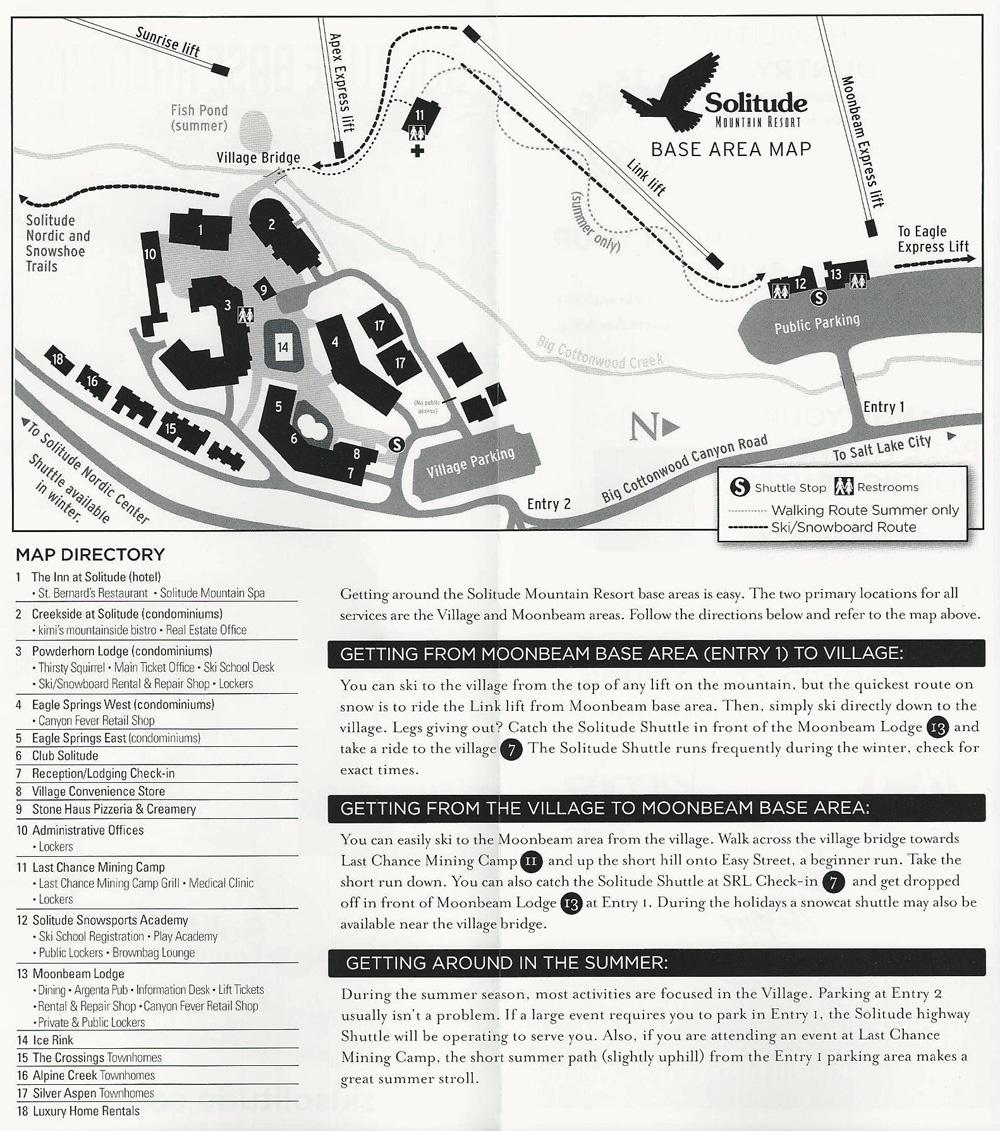 Solitude Utah Map.Solitude Homes And Condos Lifestyle Properites